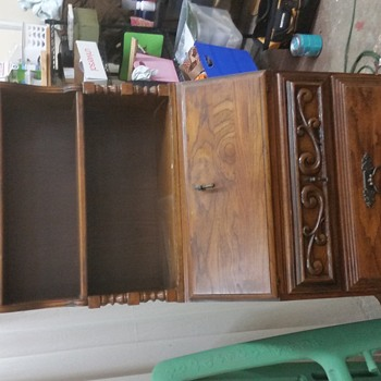 Solid Wood Secretary