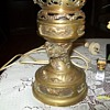 oriental brass lamp left to me by my father before he past