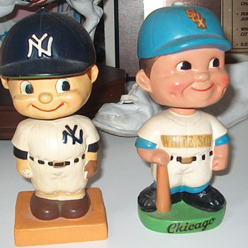 1959 Yankees  and White Sox Bobbleheads - Baseball