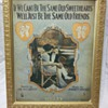 If We Can't Be The Same Old Sweethearts by Jimmie Monaco - Framed music book
