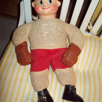 allied 1962 hockey player doll