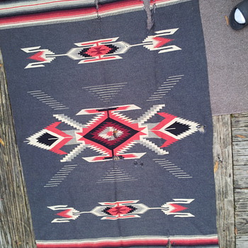 Unknown Rug- Navajo? - Rugs and Textiles