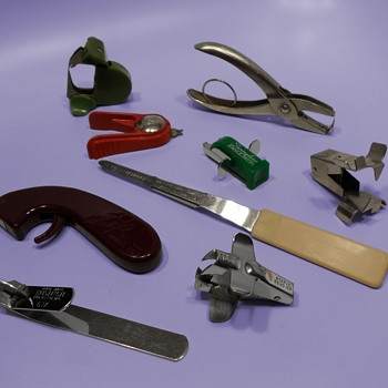 Collection of Staple Removers