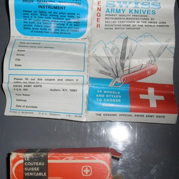 Vintage Swiss Army Knife - Tools and Hardware