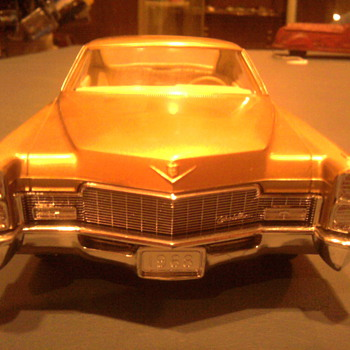 This Gold Cadillac promo is stunning and a favorite...  I just love looking at it. - Model Cars