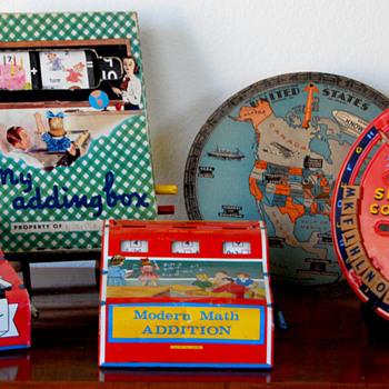 Vintage Educational Toy Collection - Toys