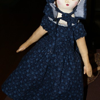 Sophie Marie, A Izannah Walker Style Doll By Christine Lefever - Dolls