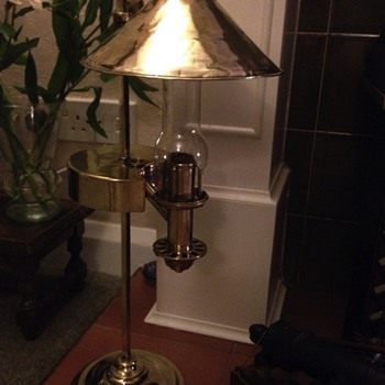More information on my Argand Lamp