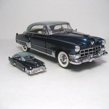 1949 Cadillac Coupe DeVille Die Cast Replicas - Model Cars