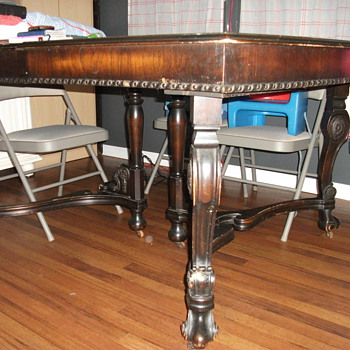 Rescued dining table - Furniture