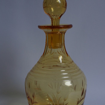 Stuart Amber Decanter