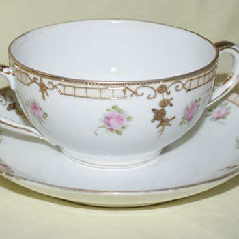 Nippon Cup and Saucer - China and Dinnerware