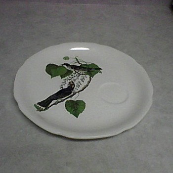 AUDUBON KING BIRD PLATE