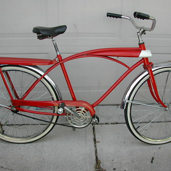 1950s - 60s tank bike w/ light