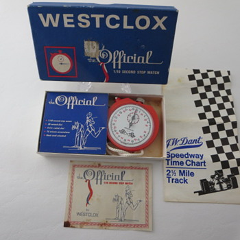 Westclox Stop Watch - Pocket Watches