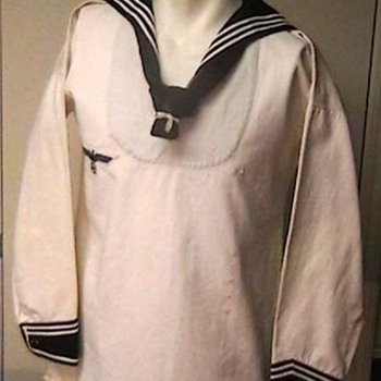 WW II German Kriegsmarine White Pullover Jumper - Military and Wartime