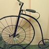 High Wheel Bike with stand