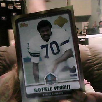 rare football card