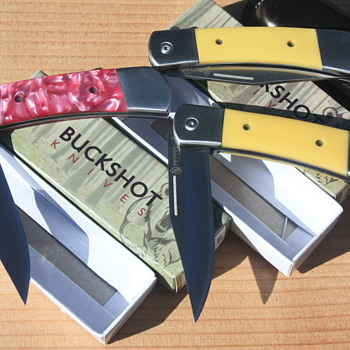 'BUCKSHOT' SPRING ASSISTED KNIVES