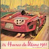 1961 - 24 Hours of Lemans Race Program