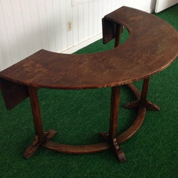 Antique Wine Tasting Table