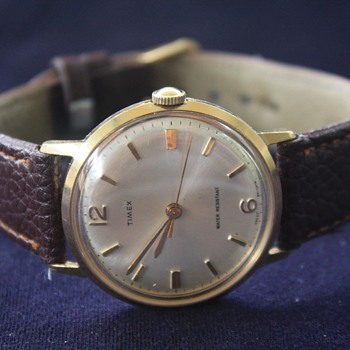 Vintage Men's TIMEX Mechanical Hand-Wind Wristwatch, circa 1970s, Made In Great Britain  - Wristwatches