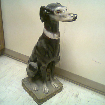 Clay Dog - Art Pottery