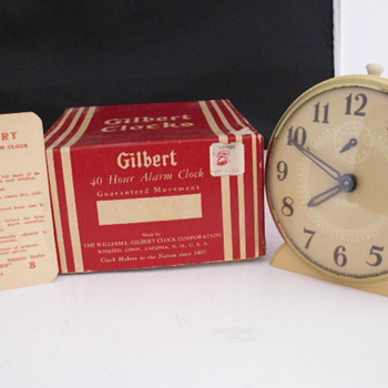 Gilbert 40 Hour Alarm - Clocks