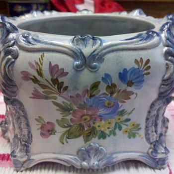 Old Italian pot