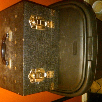 "Vintage ""Golden X"" Petroleum Salesman Sample Case - Advertising"