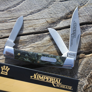 NEW IMPERIAL SCHRADE STOCKMAN POCKET KNIFE