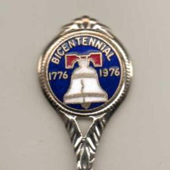 "Souvenir Spoon - ""Bicentennial"""