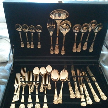 gold flatware - Kitchen