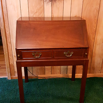 Rosewood Drop-Front Desk