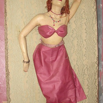 My favorite Funky Art Deco Mannequin - Advertising