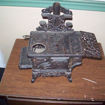 My antique Miniture Wood burning cook stove.
