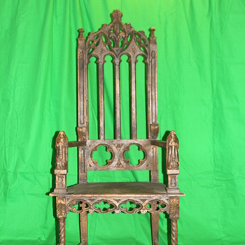 Chair Need help finding a style and date? maybe a chair from the late 1600's