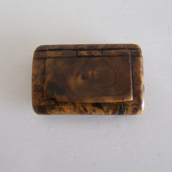 Little Snuff Box? - Tobacciana