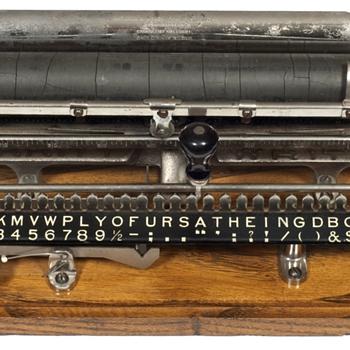 Merritt typewriter - 1890 - Office