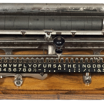Merritt typewriter - 1890