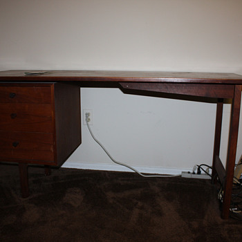 Vintage 1968 Danish Modern Desk