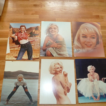 Marilyn Monroe pictures.