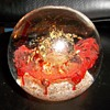 super nova mystery glass paper weight