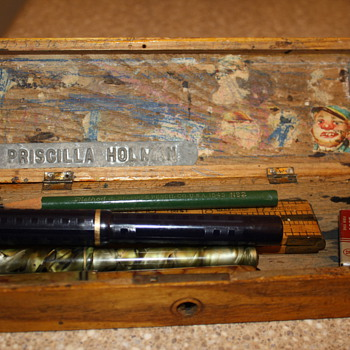 My Grandmother's School Pencil Box