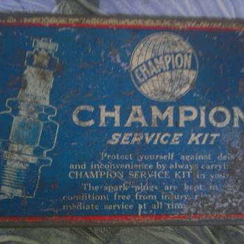 Champion Spark Plug Service Kit