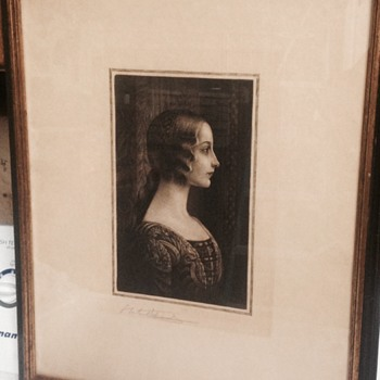 S Arlent Edwards 1905 engraving  - Visual Art