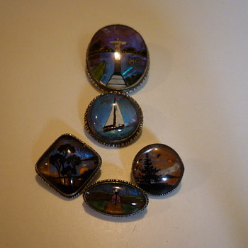 butterfly wing pendants