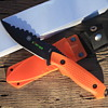 """ZOMBI WAR"" FULL TANG FIXED BLADED DIVER'S KNIFE with MATCHING ABS SHEATH"