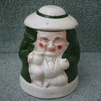 Character tobacco pot??