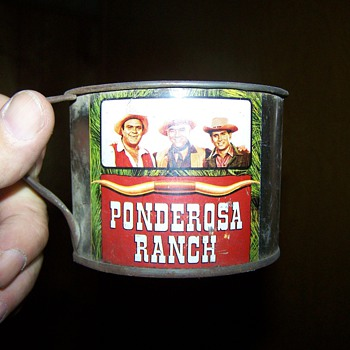 Tin Cup from the Ponderosa Ranch